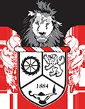 Rivermont Collegiate Lion shield graphic