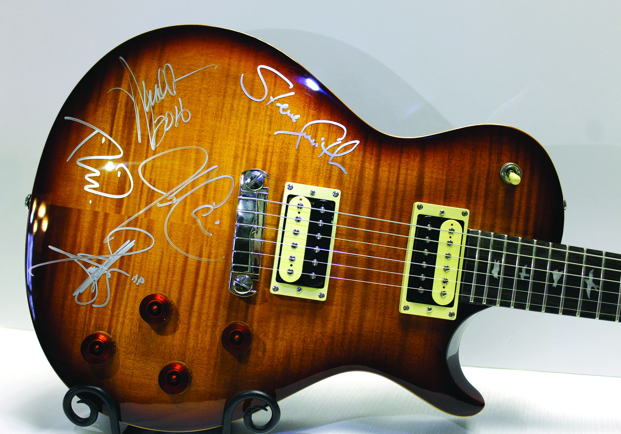Photo of Paul Reed Smith guitar
