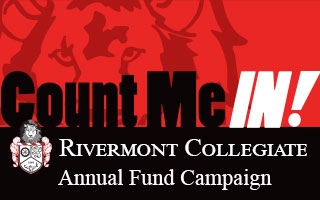 Count Me In Rivermont Collegiate Annual Fund Campaign