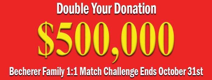 $500K Match Challenge Banner Image
