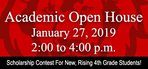 Academic Open House Promotion Image
