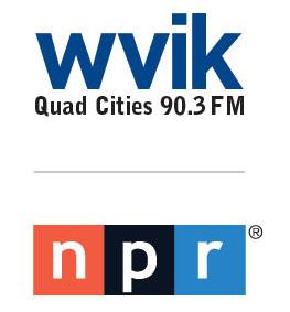WVIK QC NPR logo