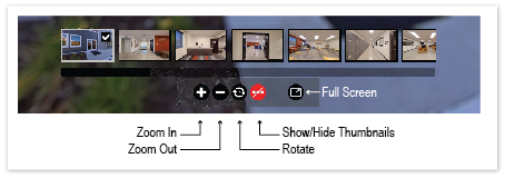 Virtual Tour Control Explanation
