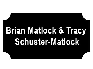 Brian Matlock and Tracy Shuster-Matlock